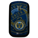 Philadelphia Union Wireless Mouse Corner Logo