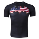 Under Armour Alter Ego USA Batman Compression Shirt (Black)