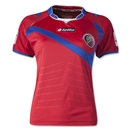 Costa Rica 2014 Women's Home Soccer Jersey