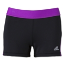 adidas Women's TechFit 3 Boy Short (Black/Pink)