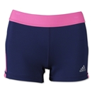 adidas Women's TechFit 3 Boy Short (Nv/Pi)