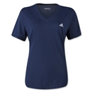 adidas Women's Ultimate V-Neck T-Shirt (Navy)
