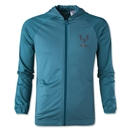 adidas Youth Messi Full-Zip Hoodie (Teal)
