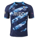Porto 14/15 UCL Away Soccer Jersey