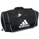 adidas Defender II Medium Duffle Bag (Blk/Wht)