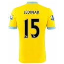 Crystal Palace 14/15 JEDINAK Away Soccer Jersey