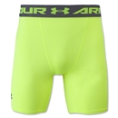 Under Armour Heatgear Compression Short (Neon Yellow)