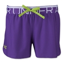 Under Armour Girls Play Up Short (Purple)
