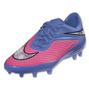 Nike Women's Hypervenom Phelon FG (Pink Pow/Chrome/Polar/Black)