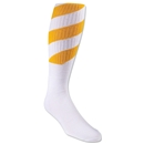 Red Lion Tornado Socks (White/Yellow)