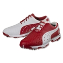 PUMA Neolux FSE Golf (White/High Risk Red)