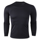 Team Compression Long Sleeve Base Layer (Black)