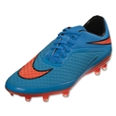 Nike Junior Hypervenom Phelon FG (Clearwater/Total Crimson)