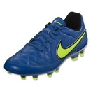 Nike Junior Tiempo Genio Leather FG (Soar/Volt)