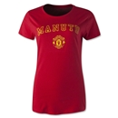Manchester United Block Women's T-Shirt