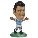 Manchester City Kun Aguero Home Mini Figurine