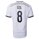 Germany 14/15 OZIL Home Soccer Jersey (4 Stars)