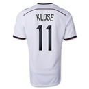 Germany 14/15 KLOSE Home Soccer Jersey (4 Stars)