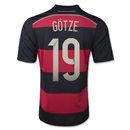 Germany 14/15 GOTZE Away Soccer Jersey (4 Stars)