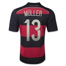 Germany 14/15 MULLER Away Soccer Jersey
