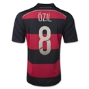 Germany 2014 OZIL Youth Away Soccer Jersey