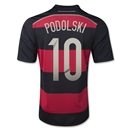 Germany 2014 PODOLSKI Youth Away Soccer Jersey