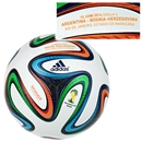 adidas Brazuca 2014 FIFA World Cup Official Match-Specific Ball (Argentina-Bosnia-Herzegovina)