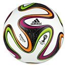 adidas 2014 Brazuca Mini Ball (White/Black/Multicolor)