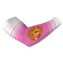 Manchester United Crest Arm Sleeves-Pink