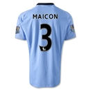 Manchester City 12/13 MAICON Home Soccer Jersey
