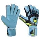 uhlsport Eliminator Absolutgrip Glove (Ice Blue/Black/Fluo Yellow)