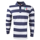 Italy 2012 Striped Polo (Navy)
