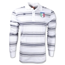 Italy 2012 Striped Polo (White)