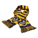 LA Galaxy Striped Bar Scarf