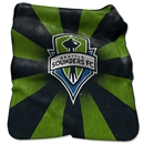 Seattle Sounders Raschel Throw Blanket