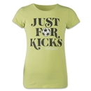 Life is Good Girls Just for Kids T-Shirt (Lime)