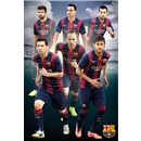 Barcelona 14/15 Players Poster