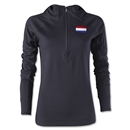 Netherlands Women's 1/4 Zip Training Hoody