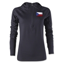 Czech Republic Women's 1/4 Zip Training Hoody
