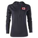 Canada Women's 1/4 Zip Training Hoody