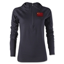 China Women's 1/4 Zip Training Hoody