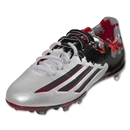 adidas Messi 10.1 FG Junior (White/Granite/Scarlet)