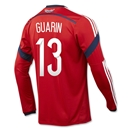 Colombia 2014 GUARIN LS Away Soccer Jersey