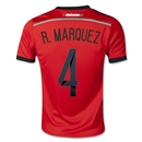 Mexico 2014 R. MARQUEZ Youth Away Soccer Jersey