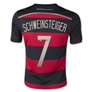 Germany 2014 SCHWEINSTEIGER Youth Away Soccer Jersey