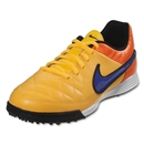 Nike Junior Tiempo Genio Leather TF (Laser Orange/Persian Violet)