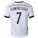 Germany 2014 SCHWEINSTEIGER Youth Home Soccer Jersey
