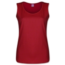 Women's Scoopneck Tank (Red)