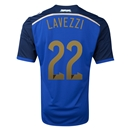 Argentina 2014 LAVEZZI Away Soccer Jersey