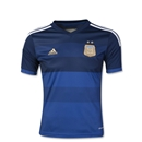 Argentina 2014 Youth Away Soccer Jersey